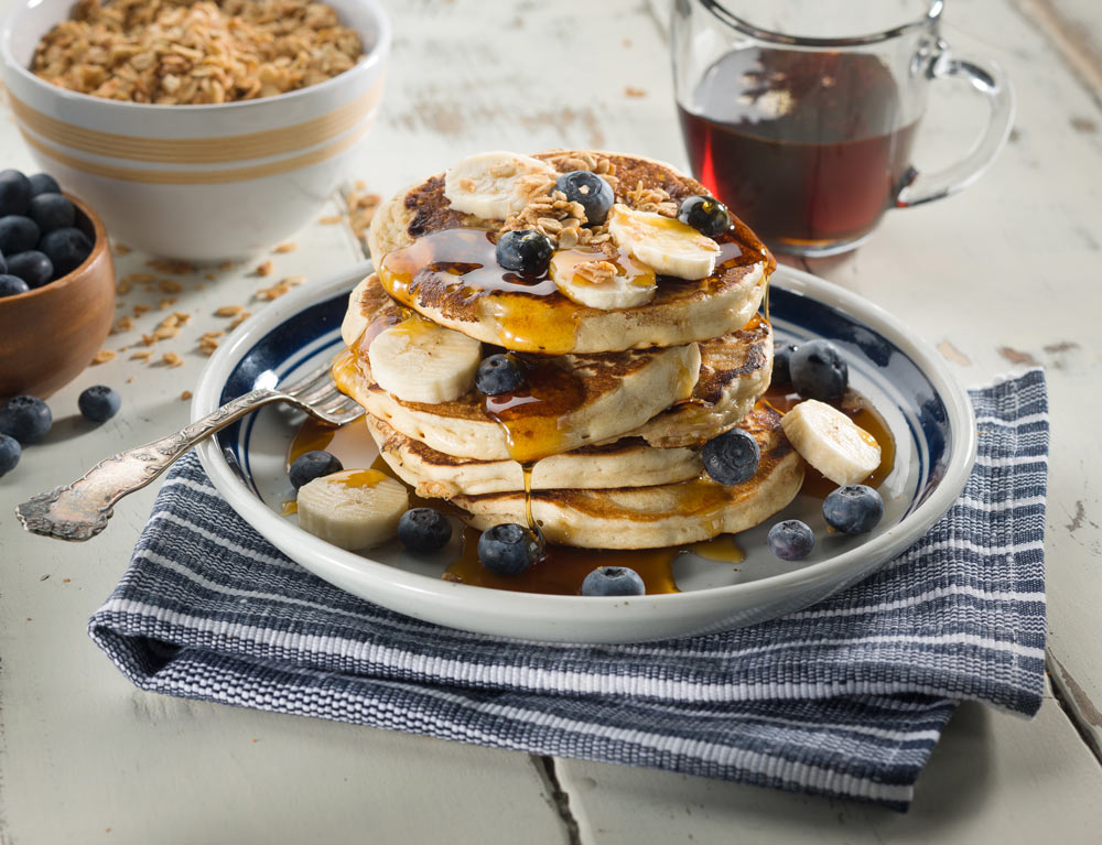Laura's Granola with Pancakes